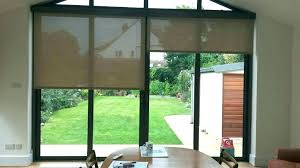 electric blinds roller blinds for patio doors patio door roller shades electric roller blinds covering patio doors sliding electric blinds