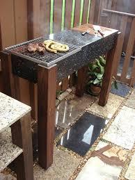 10 diy bbq grill ideas for summer balcony garden web diy communal outdoor grill