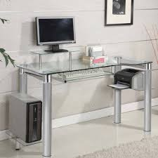 glass home office furniture. glass desks innovex clear tempered modern within computer desk u2013 home office furniture ideas o