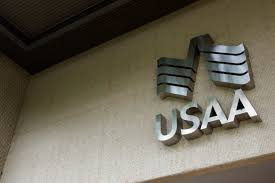 the usaa logo at the usaa headquarters in san antonio texas photo by scott
