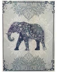 graham brown boho elephant canvas wall art purple large on african elephant canvas wall art with summer shopping deals on graham brown boho elephant canvas wall