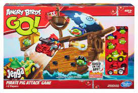 Angry Birds Go: Jenga Pirate Pig Attack | Angry Birds Wiki