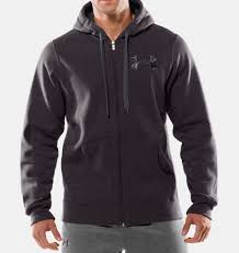 under armour zip up. men\u0027s ua charged cotton® storm full zip hoodie, carbon heather under armour up