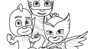 Pj Masks Coloring Pages Printables Masks Coloring Pages Mask