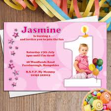 birthday invitation sle for baby save birthday invitation model best of baptism and first birthday