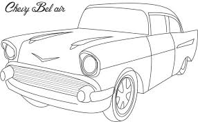 Small Picture Printable 21 Chevy Coloring Pages 6151 Racing Car Chevy Camaro