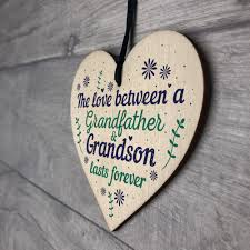 dels about grandfather gift ideas wooden heart grandpa grandad birthday gifts