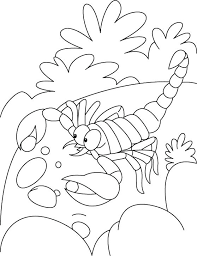 scorpion coloring pages pearl affection mortal colouring kombat sc scorpion coloring pages