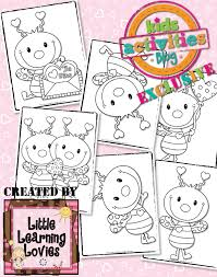 Small Picture Exclusive Love Bug Coloring Pages FREE