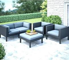 target outdoor patio furniture heatherstone conversation replacement cushion