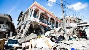 powerful earthquake hits Haiti