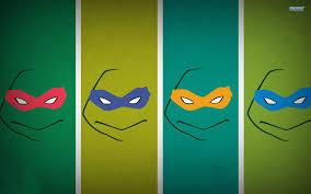 ninja turtle wallpaper. Unique Ninja Teenage Mutant Ninja Turtles Masks Wallpaper  Cartoon Wallpapers  For Ninja Turtle Wallpaper M