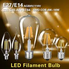 image is loading old edison filament cob led bulbs chandelier candle