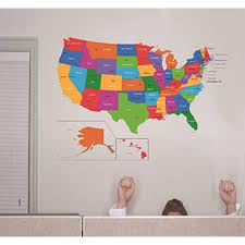 design with vinyl rad 1262 3 united states of america world map classroom school kids