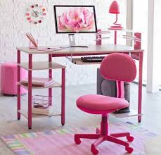 image of ikea desk chair pink