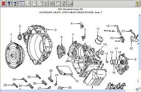 2002 mitsubishi galant speedometer odometer not working aft hi willv28 the part that you are refering to is the trans main shaft speed sensor it is not the vehicle speed sensor from the diagram look at item 3