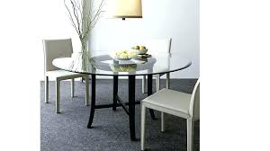round glass dining table charming inch top with additional intended for 48 topper gr inch round glass table