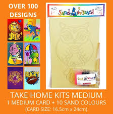 Sand Card 5 For 1 Medium Kit 1 Design Card 10 Sands Skewer Sandwizard