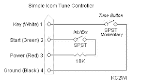 icom tune control plug kc2wi diagram created using kunky schematic drawing