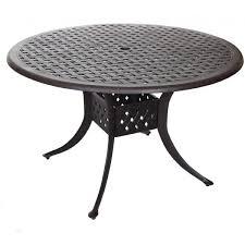 round outdoor metal table. Medium Round Metal Garden Table Patio Outdoor O