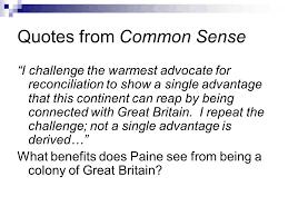 Common Sense Thomas Paine Quotes Awesome Common Sense 48 Thomas Paine Ppt Video Online Download