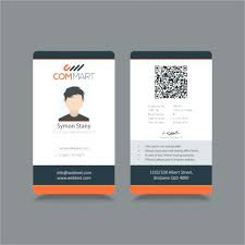 Identification Template Identification Card Template Publisher Id Cards Sample Templates