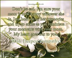 Sympathy Messages For Loss Of A Mother - Wordings And Messages