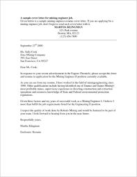 Sample Cover Letter For Resume