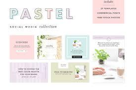 10 Unique Social Media Template Packs Beautiful Dawn Designs