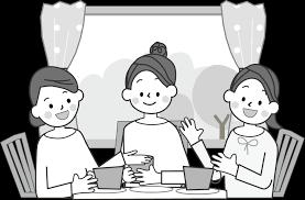会話のイラスト無料イラストフリー素材2