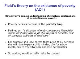 sociologyexchange co uk shared resource  43 field s theory on the existence of poverty