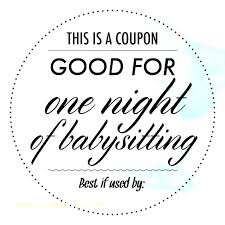 Easy To Print Free Homemade Coupon Template Download Good