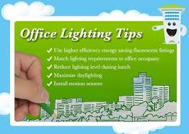 office lighting tips. According To An Australian Study, Lighting Contribute Around 38% Of The Total Energy Used In A Typical Office. Here Are Some Tips On How You Can Make Use Office