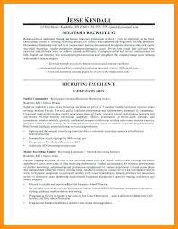 Sample Resume Format For Hr Executive 5 Human Resource Recruiter
