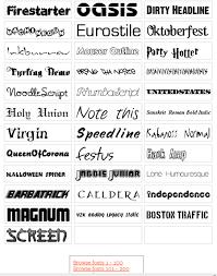 フリーで使えるオシャレなフォント500種類 ホームページを作る人のネタ帳