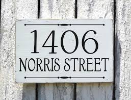 Best 25+ House number signs ideas on Pinterest | Diy house signs ...