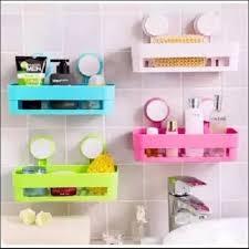 bathroom wall shelves set of 4