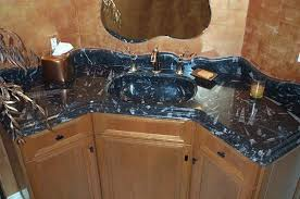 fossil granite sink