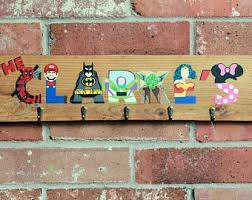 Superhero Coat Rack Handmade disney coat rack Etsy 62