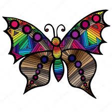 бабочки картинки для детей многоцветные бабочки для татуировки