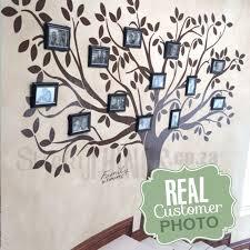 family tree gallery wall