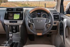 2018 toyota land cruiser prado. unique toyota although itu0027s more subtle the pradou0027s 2018 interior upgrade brings a  cleaner less fussy look to dashboard courtesy of redesigned centre stack with  throughout toyota land cruiser prado