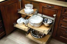 kitchen cabinet storage systems beautifully organized ...