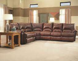 leather reclining sectional. Brilliant Leather In Leather Reclining Sectional W