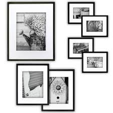 modern white picture frames. 7 Piece Perfect Wall Picture Frame Set Modern White Frames