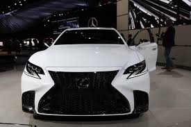 2018 lexus sport car. plain sport 2018 lexus ls 500 f sport new york auto show featured image large thumb0 to lexus sport car