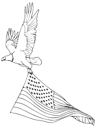 Small Picture Bald eagle coloring pages with american flag ColoringStar
