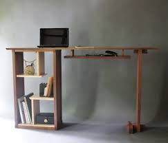 stand up desk wood. Wonderful Stand Stand Up Desk In Walnut Modern Minimalist By MokuzaiFurniture 295000  I  Like To Sew Standing Up Maybe Should Try This For Wood