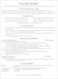 System Administrator Resume Format Admin Resume Sample ...