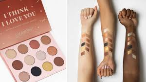 the colourpop i think i love you palette is all about everyday neutrals allure